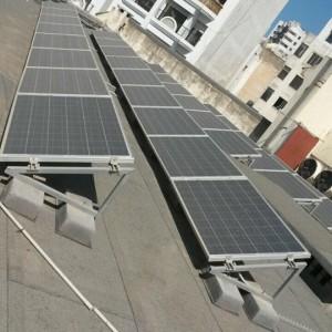 Impianto fotovoltaico consolato italiano a Marrakech (2)