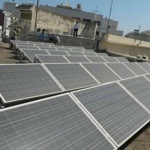 Impianto fotovoltaico consolato italiano a Marrakech
