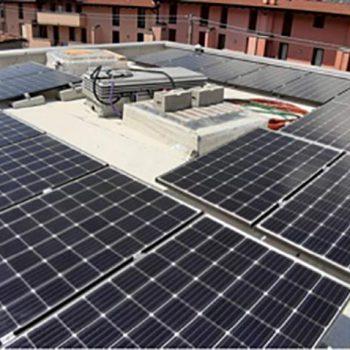 Impianto fotovoltaico villa Esine (Bs)
