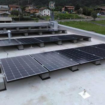 Impianto fotovoltaico villa Sacca (Bs)